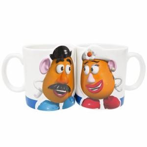 トイストーリー マグカップ ペアマグカップ2個セット LOVE ポテトヘッド ディズニー キャラクター グッズ