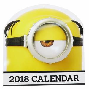 怪盗グルーのミニオン大脱走 Calendar2018 壁掛け カレンダー 2018年ミニオンズ キャラクターグッズ通販