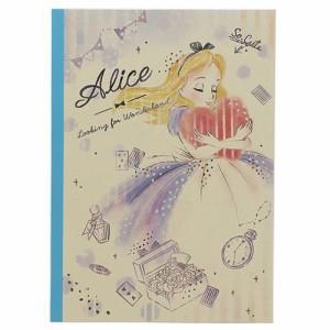 ふしぎの国のアリス 横罫ノート B5 学習ノート ハート ディズニー キャラクターグッズ通販 【メール便可】