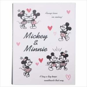 ミッキー&ミニー 付箋 BOOK型ふせんセット ネオン ディズニー キャラクターグッズ メール便可