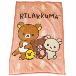 リラックマ ジュニア毛布 ハーフブランケット ほっこりリラックマ サンエックス キャラクターグッズ通販