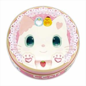 C.C.Cats ホワイトデー お菓子 レリーフ缶inマシュマロ&クラッカーねこ かわいい グッズ