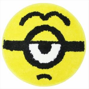 ミニオンズ ミニミニマット ラウンドチェアシート スチュワートゴーグル ユニバーサル映画 キャラクター グッズ