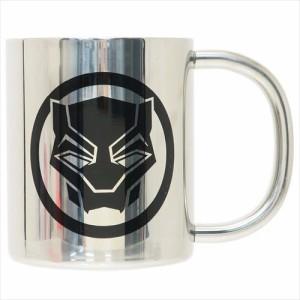 ブラックパンサー 保温保冷マグカップ ステンレス二重マグカップ アイコンシリーズ マーベル MARVEL キャラクターグッズ通販