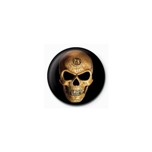 サブカル缶バッジ『Skull《ドクロ》』【メール便可】