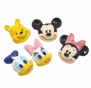 ミッキー ミニー プー ドナルド デイジー 箸置き5個セット ディズニーキャラクターグッズ 食器 通販