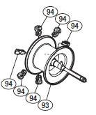 ●シマノ 12アンタレス(右ハンドル)(02835)用 純正標準スプール (パーツ品番105) 【キャンセル及び返品不可商品】