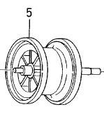 ●ダイワ チヌジャッカー(4960652554053)用 純正標準スプール (部品コード129365) 【キャンセル及び返品不可商品】