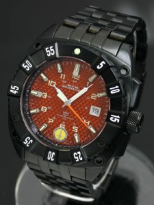 【送料無料】MTM 腕時計 ミリタリー オプス レッド ウォーリアー