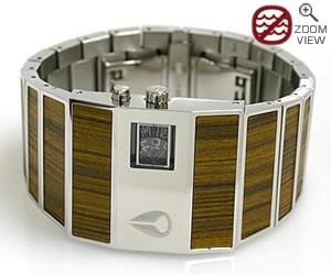 【送料無料】NIXON ニクソン 腕時計 THE ROTOLOG チーク メンズモデル NA028439