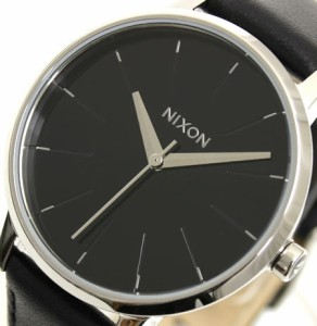 ニクソン NIXON 腕時計 KENSINGTON ケンジントン LEATHER NA108000-00 ブラック 【ニクソンNIXONレディース】