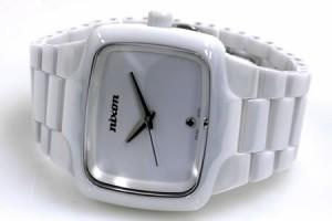 ニクソン NIXON 腕時計 THE CERAMIC PLAYER プレイヤー(プレーヤー) オールホワイト NA145126-00