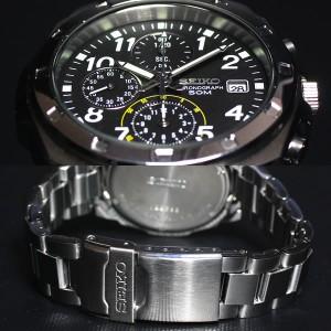 55%OFF! 逆輸入 SEIKO 腕時計 セイコー 50mクロノグラフ