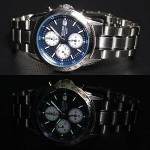 セイコー SEIKO逆輸入 腕時計 クロノグラフ SND365 メンズ 腕時計