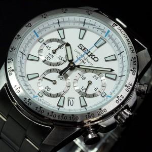 セイコー SEIKO 腕時計 メンズ セイコー 逆輸入 クロノグラフ SSB025P1(SSB025PC)