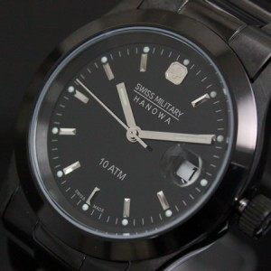 スイスミリタリー 腕時計 ELEGANT BLACK ML132 SWISS MILITARY