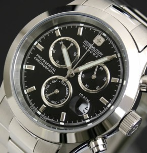 スイスミリタリー 腕時計 ELEGANT BIG CHRONO ML244 SWISS MILITARY