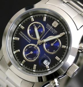 SWISS MILITARY スイスミリタリー 腕時計 ELEGANT BIG CHRONO ML245