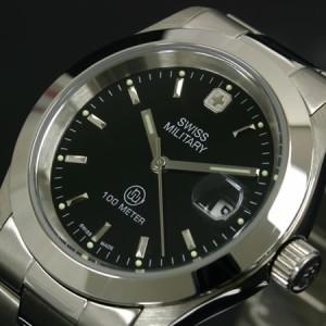 スイスミリタリー エレガント 腕時計 SWISS MILITARY ELEGANT メンズ(男) ML98