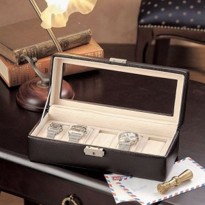 VERONA ベローナ 時計ケース 腕時計 収納ケース ウォッチケース 5本 牛革 189994