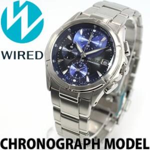 セイコー 腕時計 ワイアード ステンレススチール レイヤーダイヤルモデル AGBV141 SEIKO WIRED メンズ