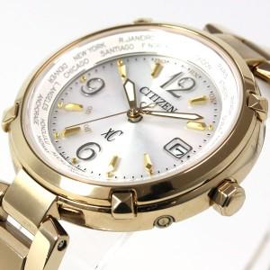 シチズン クロスシー CITIZEN XC エコドライブ ソーラー 電波時計 腕時計 レディース HAPPY FLIGHT EC1042-51A