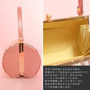 バッグ草履セット L、LL振袖用「ピンク さくら」  振り袖 [送料無料]