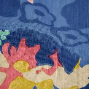 【あす着対応】 ツモリチサト女性浴衣セット「ブルー花とバレリーナ」tsumori chisatoお仕立て上がり浴衣セット [送料無料]