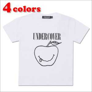 (新品)【Kid's/キッズサイズ】 UNDERCOVER (アンダーカバー) SMILE APPLE KIDS TEE 200-006846-061 (半袖Tシャツ)