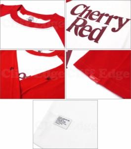 (W)TAPS(ダブルタップス) CHERRY RED ラグランカットソー 【新品】RED 201-000170-043-