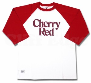 (W)TAPS(ダブルタップス) CHERRY RED ラグランカットソー 【新品】RED 201-000170-043-