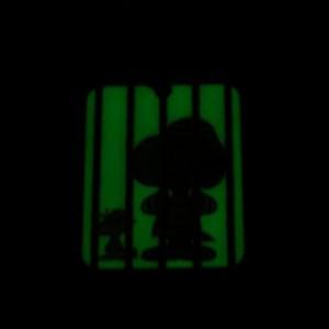 スヌーピー 限定 蓄光キーチェーン 囚人 オリ