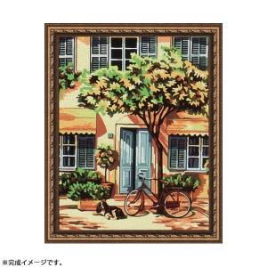 【送料無料】パズル絵画 絵具・筆付き F035