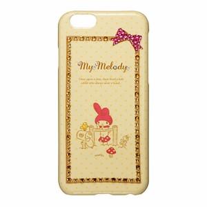 ▲ マイメロディ iPhone6 (4.7インチ) 専用 ジュエリーカバー スケッチ iP6-MM05