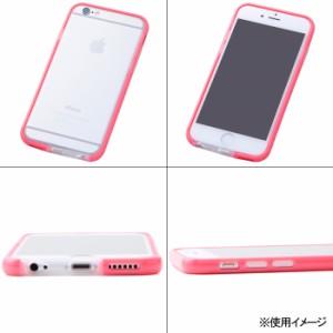 ☆ iPhone6 Plus (5.5インチ) 専用 ハイブリッドバンパー/レッド RT-P8TB1/R[レビューを書いてメール便送料無料]