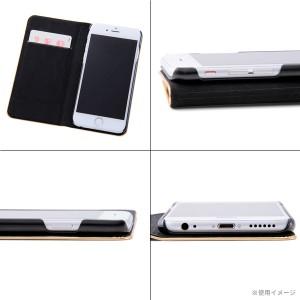 ☆ スーパーマン iPhone6s iPhone6 (4.7インチ) 専用 メタルブックレザーケース RT-WP9E/SM