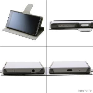 ☆ docomo Xperia Z5 Compact (SO-02H) 専用 スリムレザーケース ブラック RT-RXPH2SLC1/B