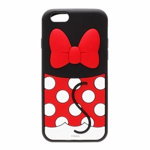 □ ディズニー iPhone6s iPhone6 (4.7インチ) 専用 シリコンケース ミニーマウス PG-DCS046MNE【レビューを書いてメール便送料無料】