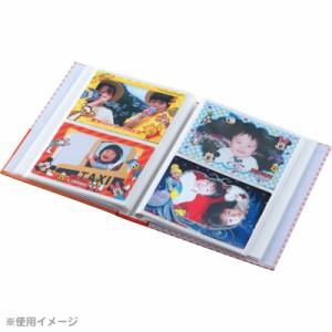 ナカバヤシ ディズニー フォトフレームカード 4枚組 L判写真用 ミッキー&フレンズ PFCD-302-1