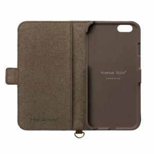 ☆ iPhone7 (4.7インチ) 専用 フリップカバー キャンバス ネイビー PG-16MFP15NV