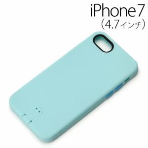 □ iPhone7 (4.7インチ) 専用 シリコンソフトケース ブルー PG-16MSC04BL【レビューを書いてメール便送料無料】