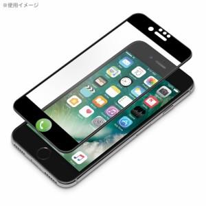 □iPhone7/6s/6 専用 液晶保護フィルム 衝撃吸収EXTRA 光沢 ブラック PG-16MSF14BK[レビューを書いてメール便送料無料]
