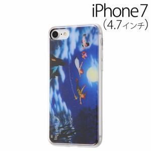 ☆ ディズニー iPhone7 専用 スマホTPUケース 背面パネルセット ピーターパン10 IJ-DP7TP/PP010[レビューを書いてメール便送料無料]