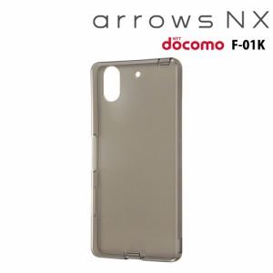 [12月上旬発売]☆ docomo arrows NX (F-01K) 専用 TPUソフトケース ブラック RT-ARK1TC10/B[レビューを書いてメール便送料無料]
