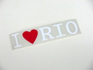 【メール便送料無料】【Fproducts】アイラブステッカー RIO/アイラブ リオ
