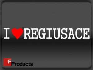 【メール便送料無料】【Fproducts】アイラブステッカー REGIUSACE/アイラブ レジアスエース