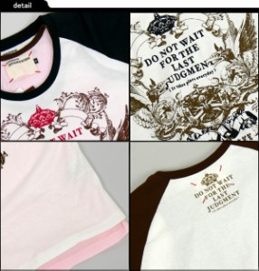 Armee Francaise 3WAYリアルレイヤード&ラグランエンブレムプリントTシャツ