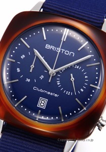 ブリストン BRISTON 腕時計 Clubmaster Vintage Chronograph 17140.SA.TV.15.NNB