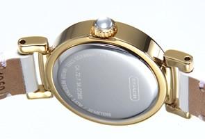 コーチ 腕時計 レディース ニュー マディソン ホワイトパール×ゴールド 14501691