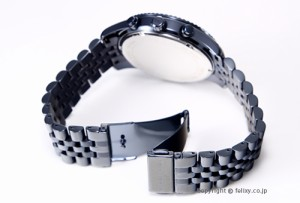 マイケルコース MICHAEL KORS 腕時計 ラージ レキシントン クロノグラフ オールネイビーブルー MK8480